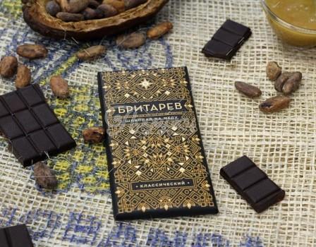 Шоколад на меду 75% какао, классический