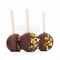 Мандарин в темном шоколаде