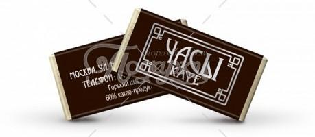 Молочный и горький шоколад