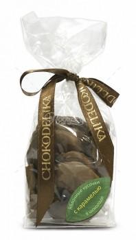Яблочные кусочки в шоколаде с карамелью