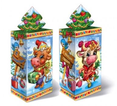 Сладкий подарок с конфетами Каникулы
