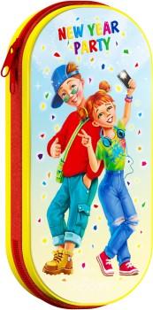 Новогодний подарок с конфетами для ребенка Пенал Клаssные