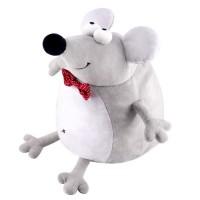 Новогодний подарок мягкая игрушка  мышонок Кристофер