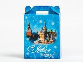 Сладкий новогодний подарок в картонной упаковке Курантов бой