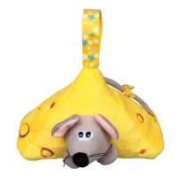 Сладкий подарок игрушка мышонок Лежебока
