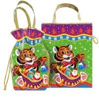 Сладкий новогодний подарок Мешочек сумка Оскар