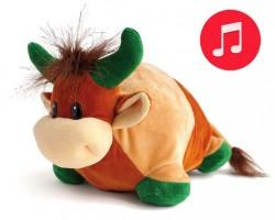 Игрушка бычок Му-Муйка с музыкальным эффектом 250 гр