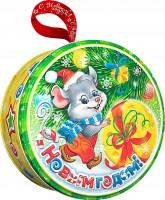 Сладкий новогодний подарок Мышка Малышка