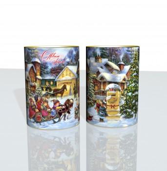 Новогодний подарок с конфетами Накануне