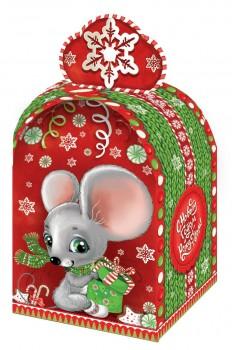 Новогодний подарок с символом года Норушка