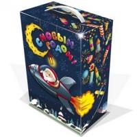 Новогодний игровой набор Галактика с конфетами