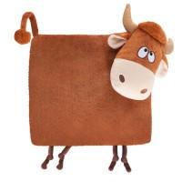 Подарок Подушка- сплюшка символ года корова