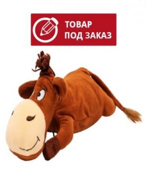 Подушка Василек с конфетами на новый год