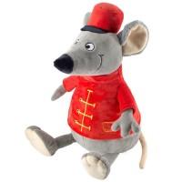 Мышонок Поручик Мышевский мягкая игрушка на новый год