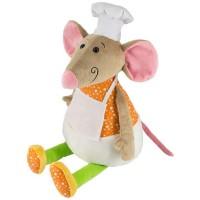 Новогодний подарок мягкая игрушка  мышонок Рататуй