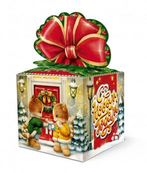 Сладкий подарок к Новому году для детей Рождество