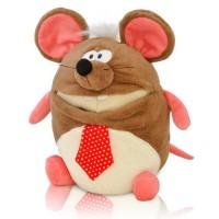 Новогодний подарок мягкая игрушка  мышонок Рокфор