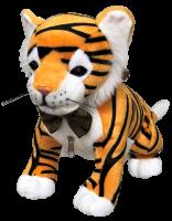 Сладкая мягкая игрушка тигр Рычалкин