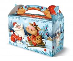 Сладкий подарок для детей Саночки