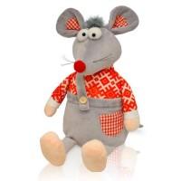 Сладкая мягкая игрушка мышонок Шустрик