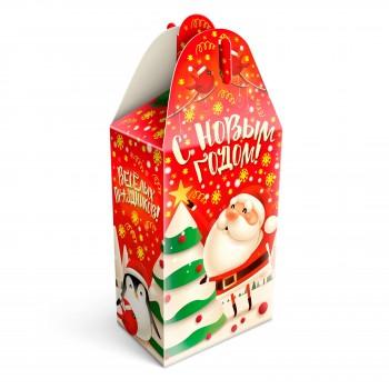 Сладкий новогодний подарок Сноумен