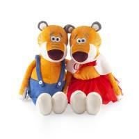 Новогодний подарок мягкая игрушка тигрята Стефан и Беатрис