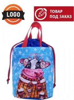 Подарок на новый год сумка с логотипом