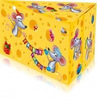 Новогодний подарок Сырный ломтик