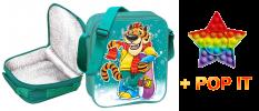 Термосумка с моющейся поверхностью Тигр с Pop-it