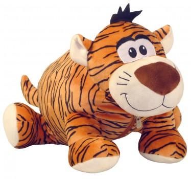 Новогодний подарок мягкая игрушка Тигруля